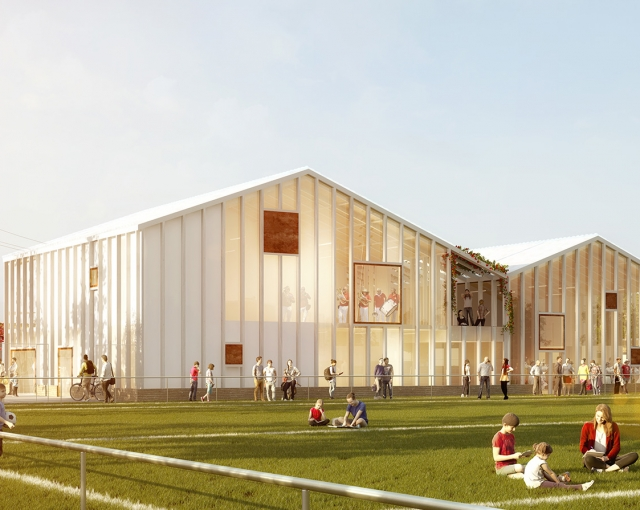 Sport and Culture center - Sport architecte studio