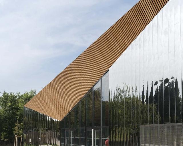 Culture and sports center - Sport architecte studio