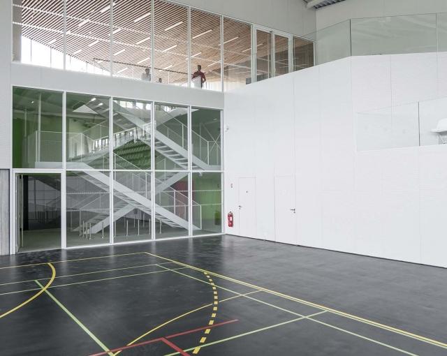 centre sportif et culturel atelier ferret architectures equipements sportifs culturels et