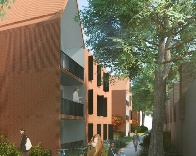 106 logements - Agence architecture sport