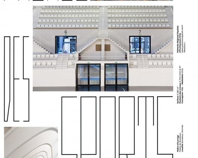 Palais des Sports de Bordeaux - Agence architecture équipements sportifs, culturels et logements