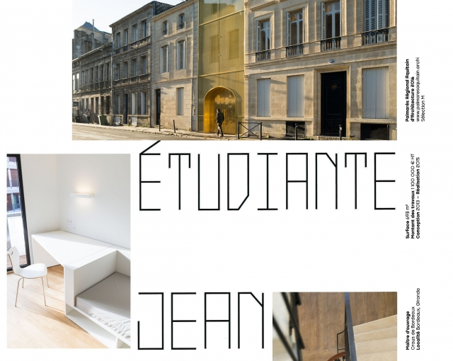 Residence Jean Anouilh - Sports, cultural and housing facilities architecture studio