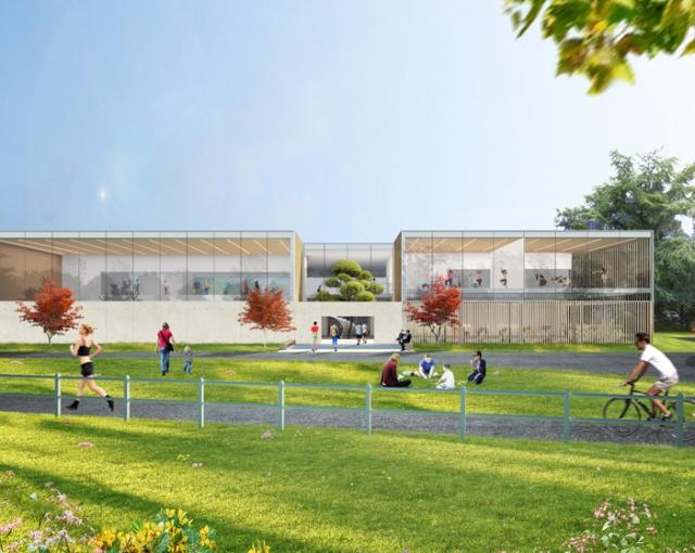 Eindhoven sport complex - Sport architecte studio