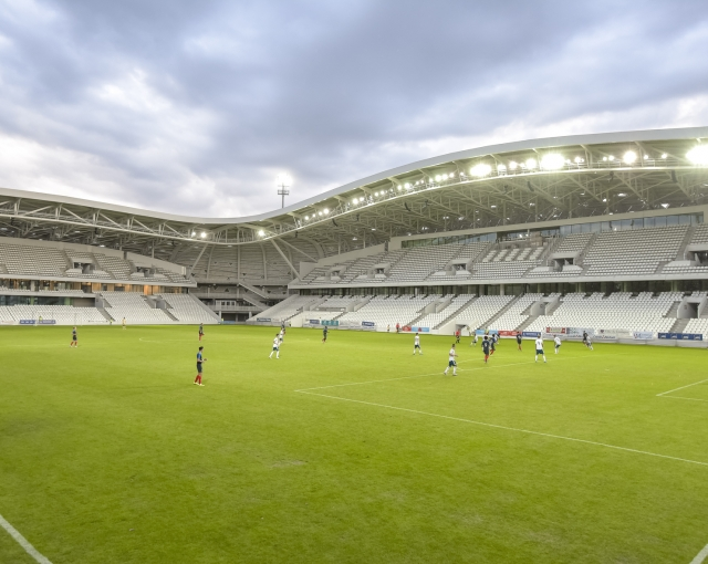 STADIUM BEAUBLANC - Sports, cultural and housing facilities architecture studio
