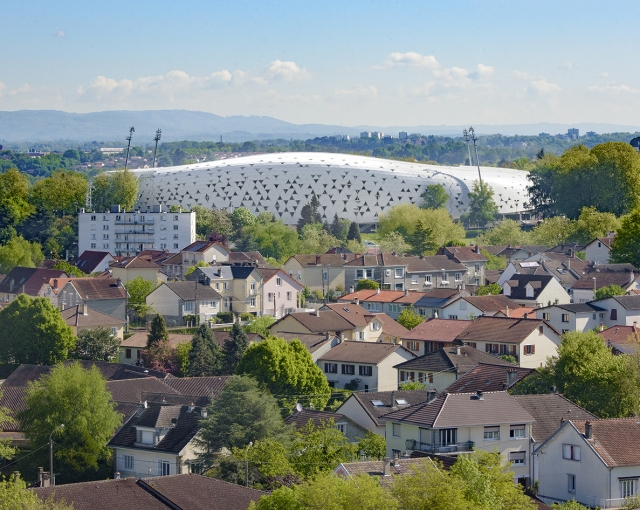 """Beaublanc"" stadium - Sport architecte studio"