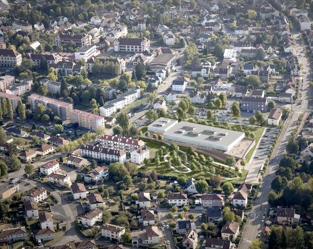 Emile Gentil Gymnasium - Sport architecte studio
