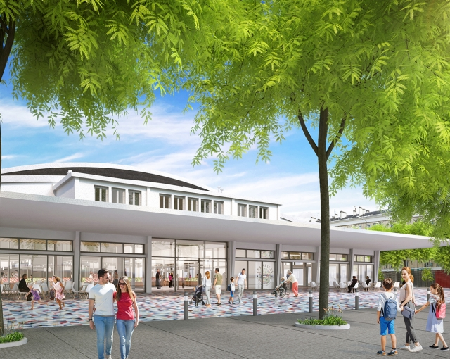 (Français) Un projet gourmand ! - Sports, cultural and housing facilities architecture studio