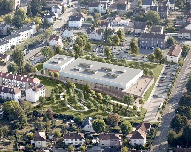 Atelier Ferret Lauréat! - Sports, cultural and housing facilities architecture studio