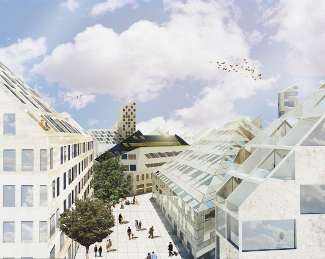 Housing project at Bastide Niel - Sport architecte studio