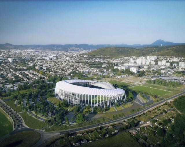 Stadium Gabriel Montpied - Sport architecte studio