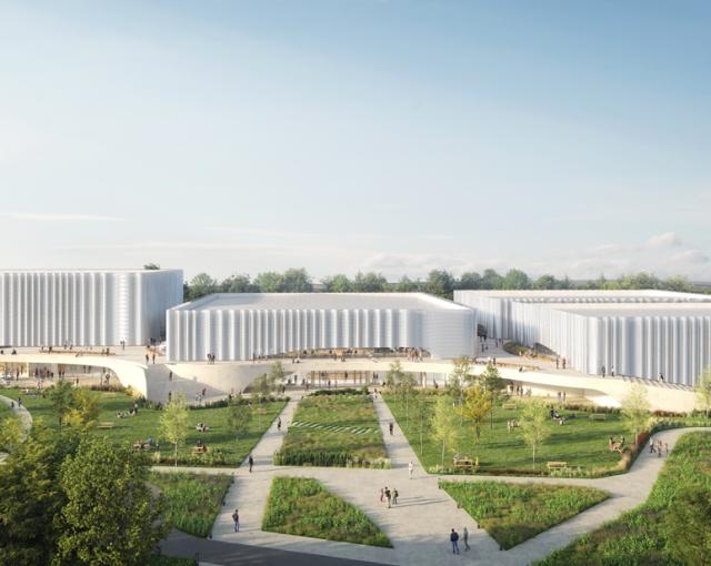 Complexe sportif et culturel aux Sables d'Olonne - Sports, cultural and housing facilities architecture studio