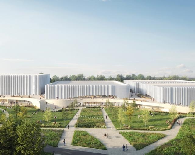 Sports and Cultural Center in Sables d'Olonne - Sport architecte studio