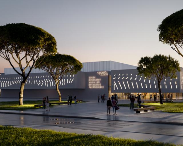 SMART Building in Pessac - Sport architecte studio