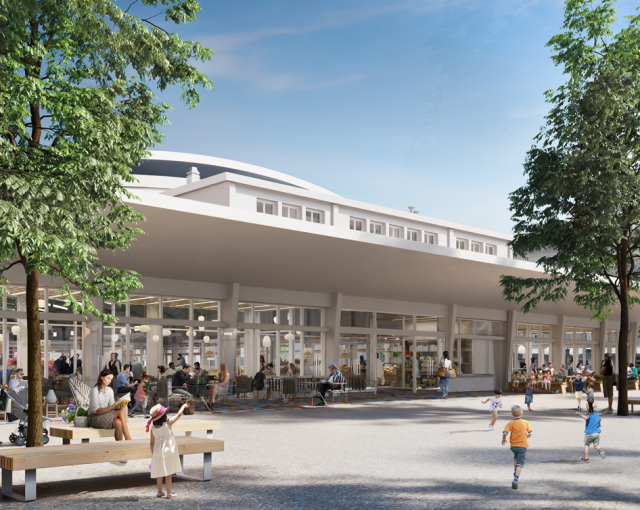 Saint-Nazaire Market Hall - Sport architecte studio